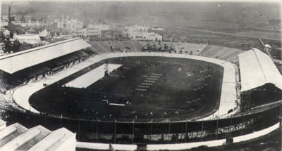 1908 Aerial View of the stadium