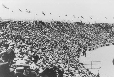 1908 Olympic Crowd