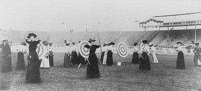 1908 Womens Archery