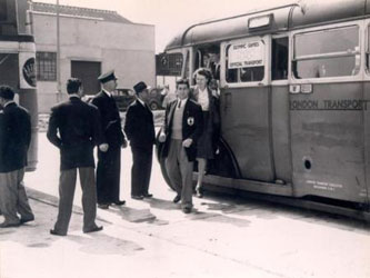 1948 London Olmypics bus transport