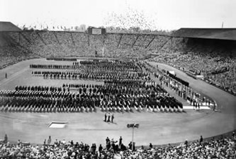1948 London Olympics opening ceremony