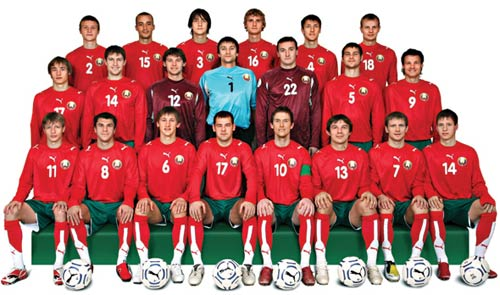 Belarus Squad