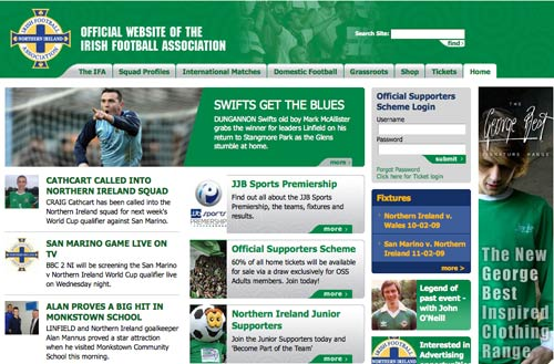Northern Ireland homepage