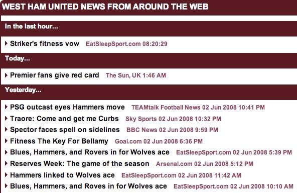 Daily Mail West Ham news round-up