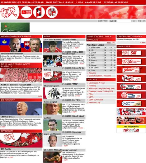 Swiss FA Website