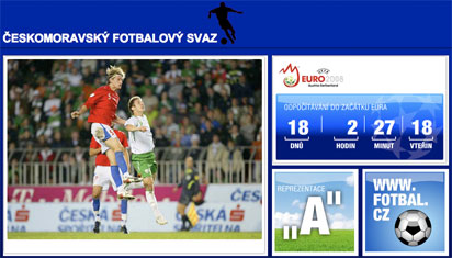 Czech Republic FA homepage