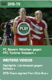 Promo slot for DFB-TV