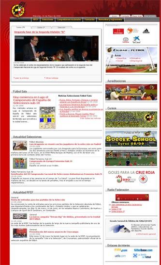 RFEF homepage