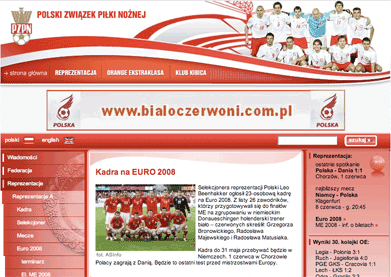 Polish FA Euro 2008 section