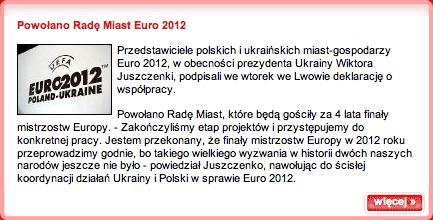 Polish FA Euro 2012 news