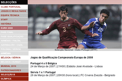 Portugal's road to Euro 2008