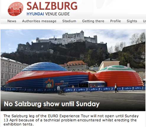 News about Salzburg on the UEFA site