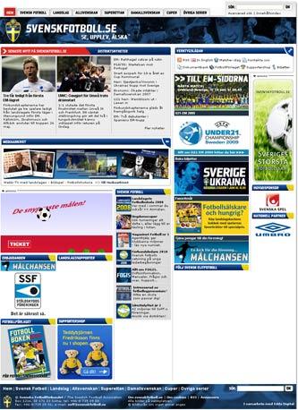 Swedish FA homepage