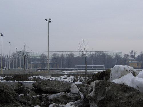 Ernst Happel stadium in the distance in 2006