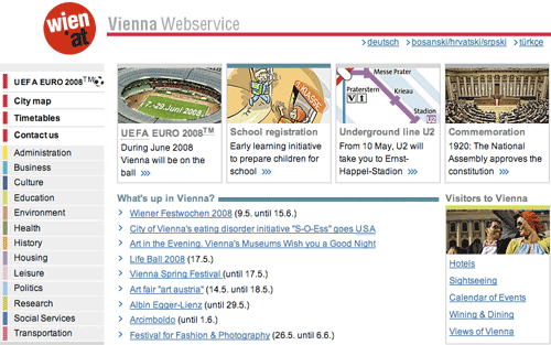 Wien Homepage