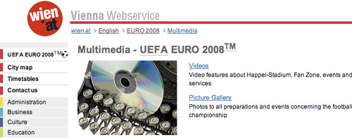 Wien Multimedia section