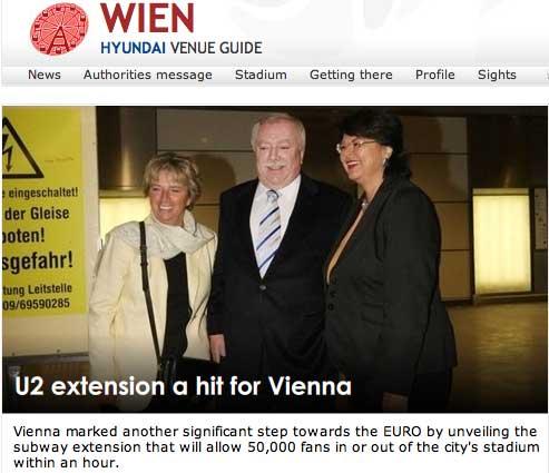 Wien U2 Extension