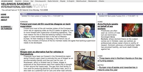 Helsingin Sanomat International Edition