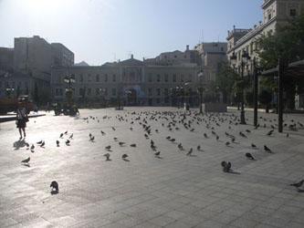Plateia Kotzia in Athens