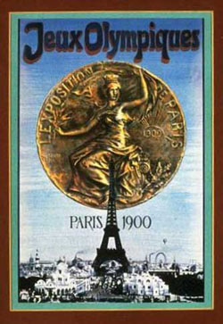 1900 Olympic Poster