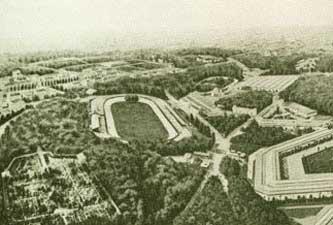 The Velodrome De Vincennes in 1900