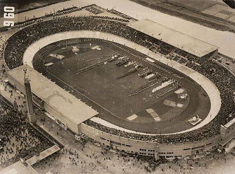 The 1928 Amsterdam Olympic stadium
