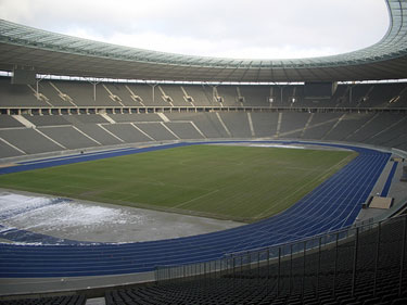 Berlin Olympic Stadium in 2006 prior to the World Cup Final