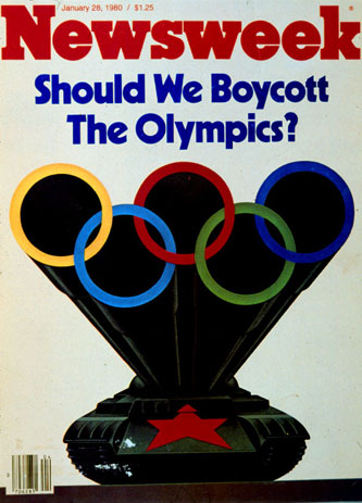 1980 Newsweek Olympic cboycott cover image