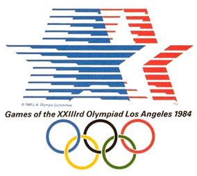 1984 Los Angeles Olympic Logo