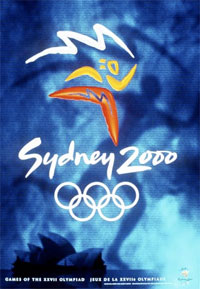 2000 Olympics promotional material