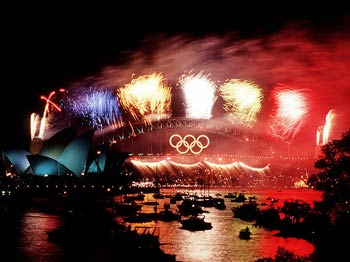 Sydney fireworks of the right kind