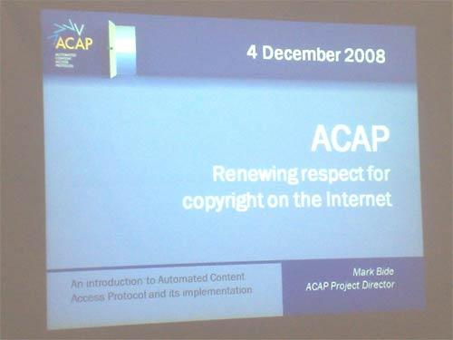 ACAP title slide