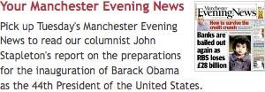 Manchester Evening News Obama promo