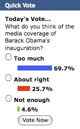 Obama media coverage vote