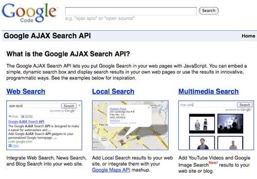 Google Ajax Api