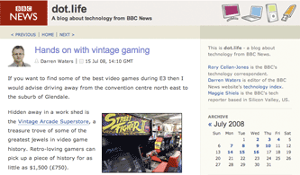 BBC dot.life blog
