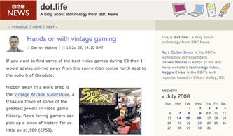 BBC dot.life blog