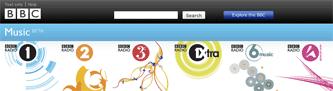BBC Music Beta area