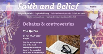 Channel4 Qur'an microsite
