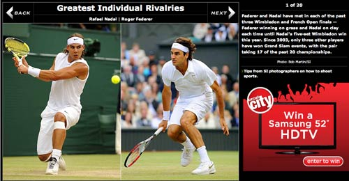 Sports Illustrated Olympic rivalries