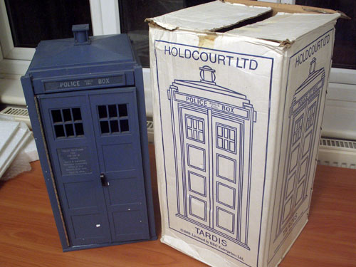 My TARDIS and box
