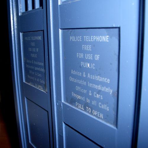 Bonus TARDIS stickers