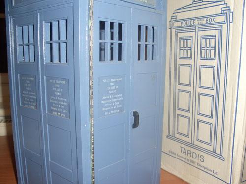 TARDIS and box