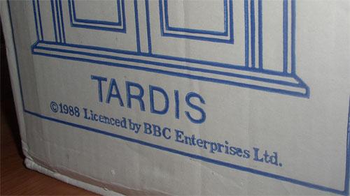 TARDIS licenced by BBC Enterprises