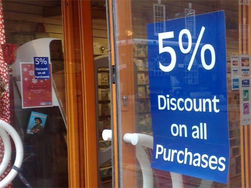 Diva 5% discount
