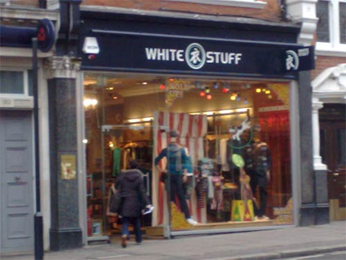 White Stuff shop front