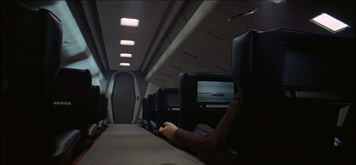 In-flight shuttle movie
