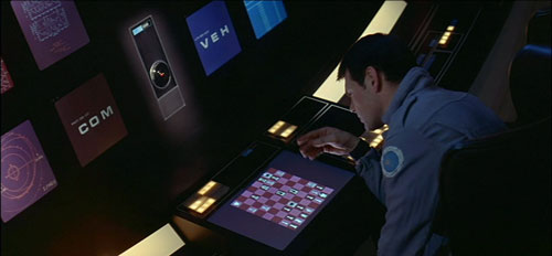 Hal plays Chess