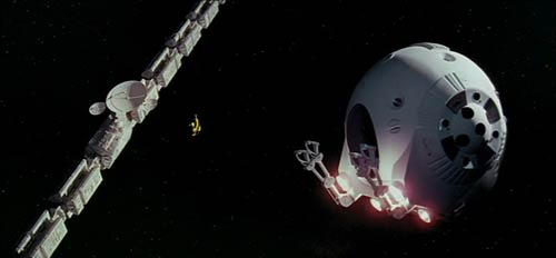 Discovery One EVA pod