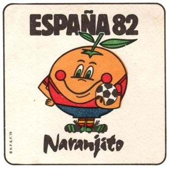 1982 World Cup mascot Naranjito